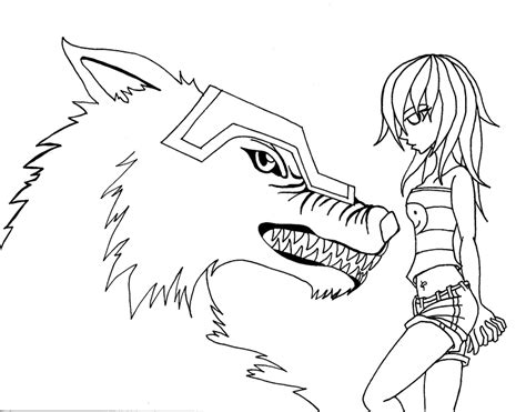coloring pages of cute wolves coloring pages of anime wolves coloring home