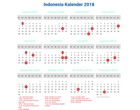 printable calendar 2018 indonesia indonesia calendar 2018 8 newspictures xyz