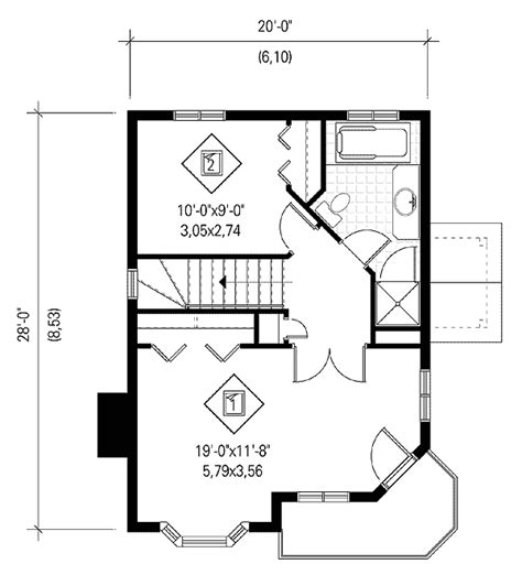 decker floor plan decker decks 80567pm architectural designs house plans