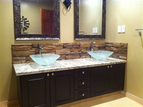 bathroom vanity backsplash ideas 20 eye catching bathroom backsplash ideas