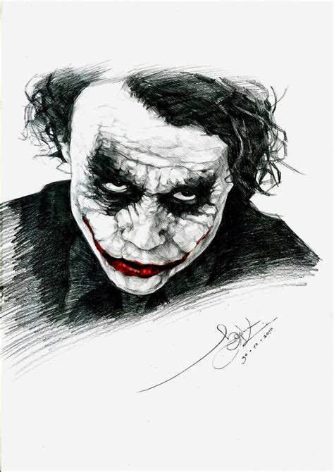 joker tattoo black and white the joker by n00brevolution on deviantart