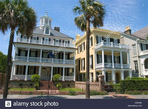 buying a house in south carolina antebellum houses on south battery street charleston south carolina stock photo