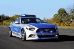 ford mustang gt polizei front three quarter 02 motor trend