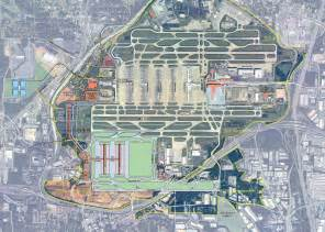 Atlanta Hartsfield Map by Hartsfield Jackson Atlanta International Airport