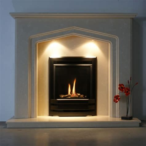 Open Gas Fireplace Inserts by Bailey High Efficiency Inset Gas With Logs Spirit