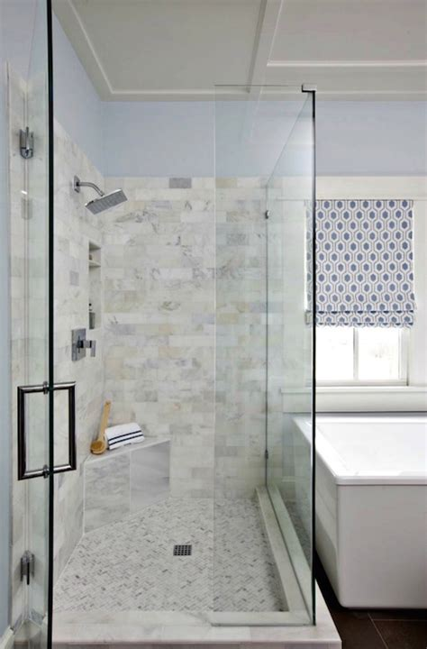 carerra marble custom steam shower master bath pinterest corner shower bench design ideas
