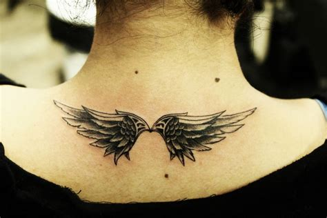small wings tattoo minimalist ideas designs that prove subtle things