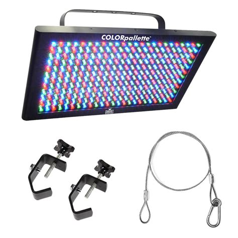 Light Fixture Packages Chauvet Led Palet Colorpalatte Lighting Fixture Package W