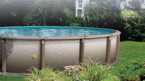 backyard leisure pools antigua above ground swimming pool above ground pools