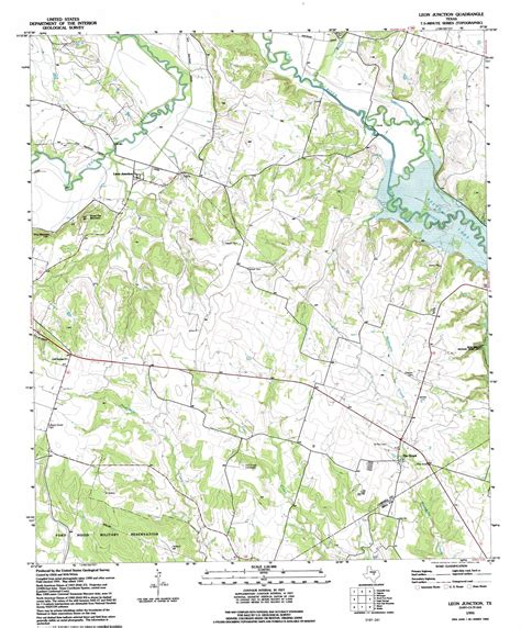 junction texas map junction topographic map tx usgs topo 31097c5