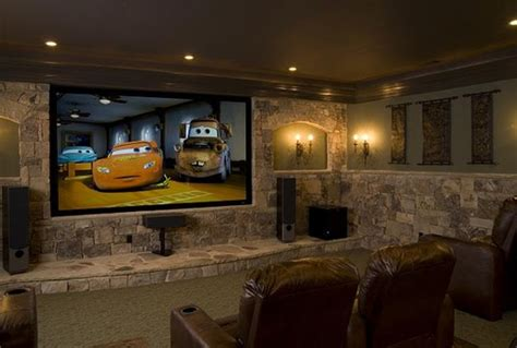 cool home design tips cool and minimalist home theater decor ideas