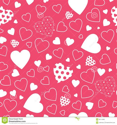Black And White Polka Dot Gift Wrap - red hearts background stock photo image 36114980