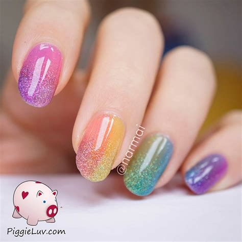 nail art and colors for march 2015 gradient nails color combinations www pixshark com