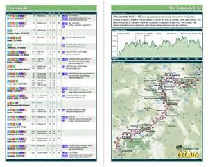 colorado trail pocket atlas colorado trail map