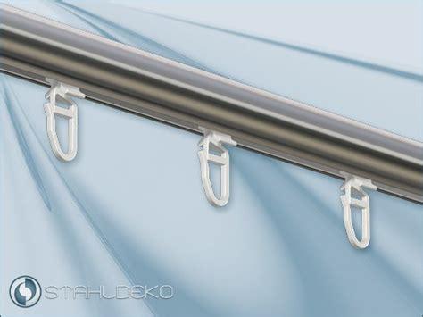 gardinengleiter fur 4mm aluschienen faltengleiter x gleiter mit haken kunststoff wei 223 f 252 r