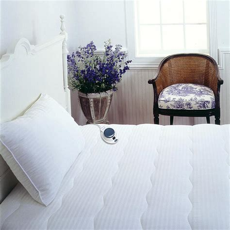 heating pad for bed safe low voltage softheat heated electric mattress pads at