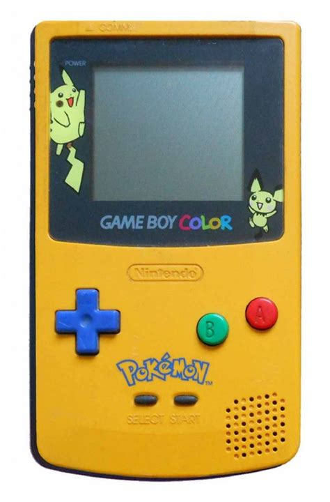 yellow gameboy color buy boy color console yellow blue cgb