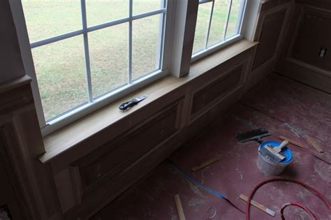 Interior Wood Window Sill Replacement Our Home From Scratch