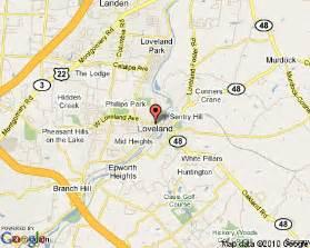 Loveland Ohio Map by Loveland Ohio