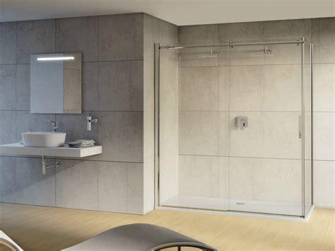 porte scorrevoli doccia magnum box doccia con porta scorrevole by ideal standard