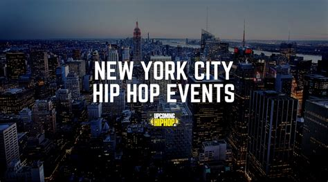 Bb Nyc Calendar New York City Hip Hop Events Upcominghiphop Net