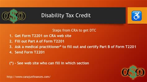 Disability Tax Credit Form Dtc Change For The Better Canadian Personal Finance
