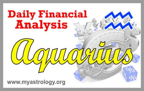 aquarius daily finance astrologyzo com