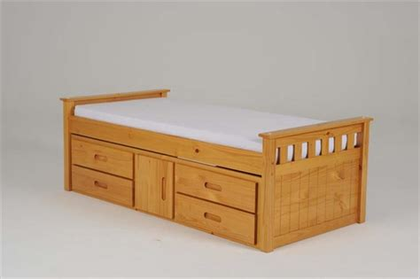 Single Bed Storage Drawers by Captains Single Bed With 4 Drawers Storage 163 349 00
