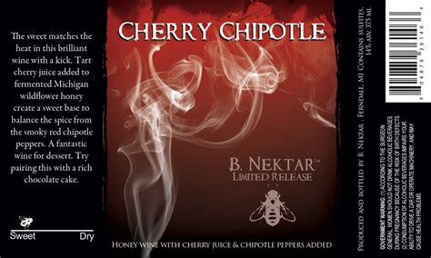 Cherry B cherry chipotle b nektar meadery