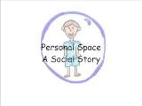personal space c free quot a story about personal space quot a social story for