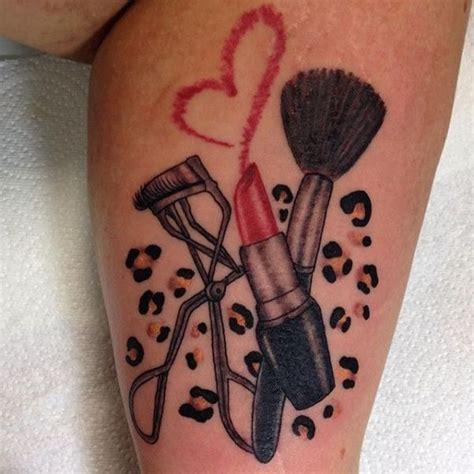 19 stylish tattoos makeup lovers will love tattoo s