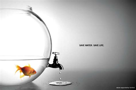 best ad best ads save water save