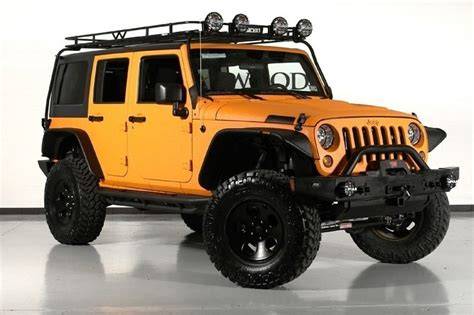 jeep wrangler orange lifted jeep wrangler unlimited lifted orange car interior design