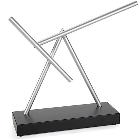 perpetual motion desk toys the perpetual motion sculpture hammacher schlemmer