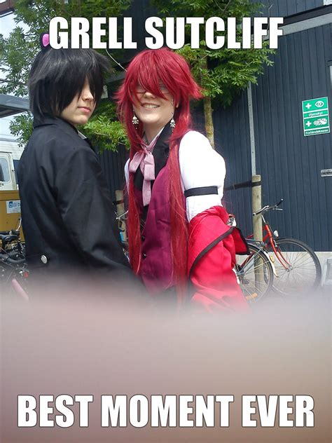 Meme Cosplay - grell sutcliff cosplay meme by medonii on deviantart