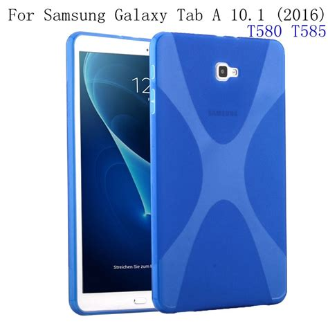 for samsung galaxy tab a 10 1 2016 t580 t585 garunk x line soft tpu silicon semi