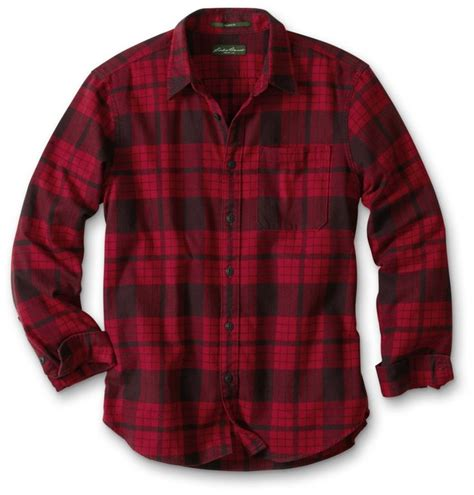 Kemeja Flanel Gjm128 Bahan Flanel eddie bauer favorite flannel shirt plaid shirts cardigan and