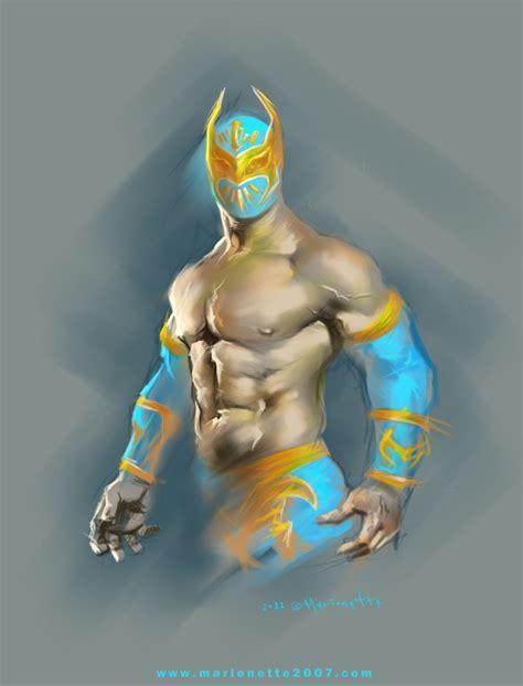 imagenes de el luchador love machine sin cara wwe by marionette2007 on deviantart