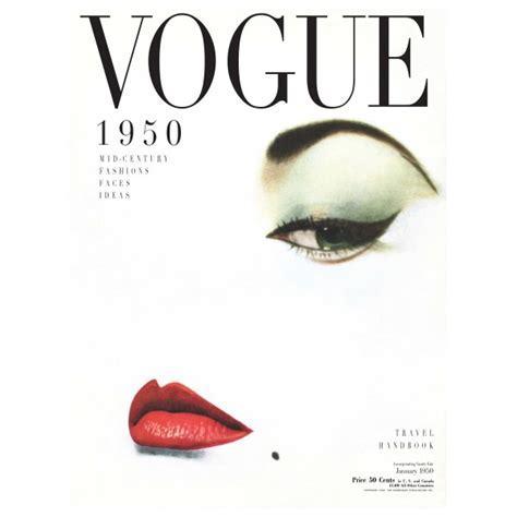 Vogue cover 1950 print   hardtofind.