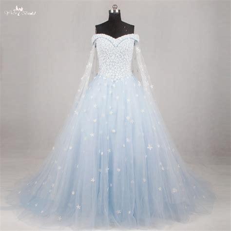 rsw light blue wedding gown wedding dress