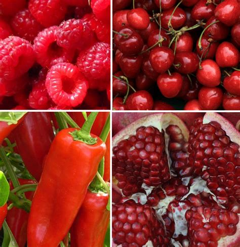 imagenes de verduras rojas 21 beneficios de la fruta y verdura de color rojo