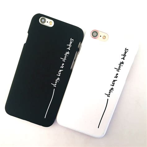 couple phone cases  iphone  cute iphone  coque fashion pink black hard plastic mobile
