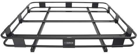 surco safari roof rack surco safari rack 5 0 rooftop cargo basket for thule roof racks 60 quot long x 50 quot wide surco