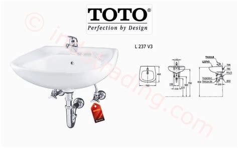 Cermin Wastafel Toto jual wastafel toto l237 v3 harga murah jakarta oleh kamar