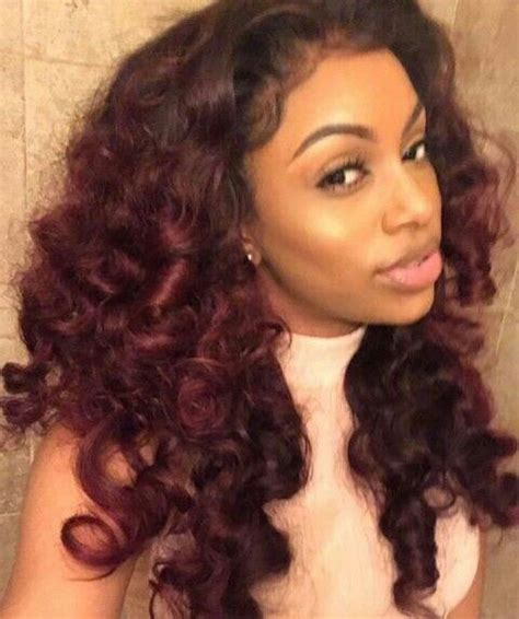 Hair Color And Style Doll Black by 25 Best Ideas About Weave Hairstyles On
