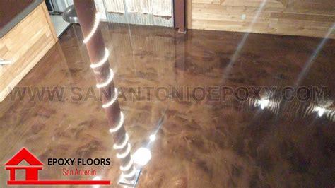 metallic epoxy flooring images in san antonio tx