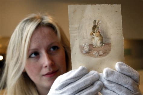 New House Gift by New Beatrix Potter Story Uncovered After 100 Years