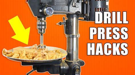 quick drill press hacks woodworking tips  tricks