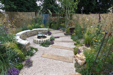 garden firepit garden gallery rhs hton court flower show 2010 the