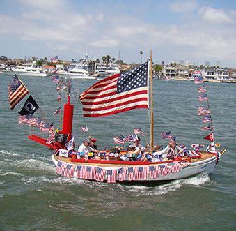old glory boat parade hyatt regency newport beach summer concert series visit